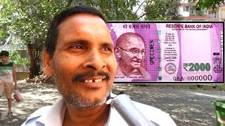 New Rs 2000 and 500 Rupee n Banned Rs 1000 Note  - New Currency