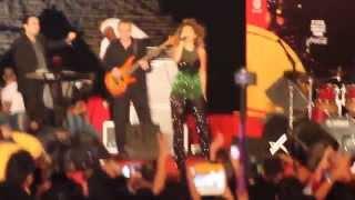 Crowd Camera - FIFA Concert - Myriam Fares singing Nadini
