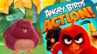 NEW TERRANCE CHARACTER UNLOCK - Angry Birds Action Game - Levels 29 - 33 Completed (IOS/ANDROID)