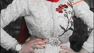 تعلمي كيفاش طرزي بالطرز الرباطي وبشكل رائع  مع ام عمران - tarz rbati-embroidery