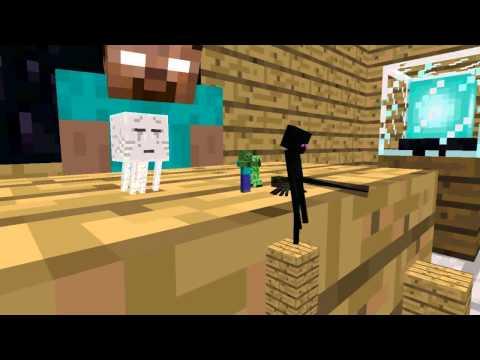 Monster School Acrobatics Minecraft Animation