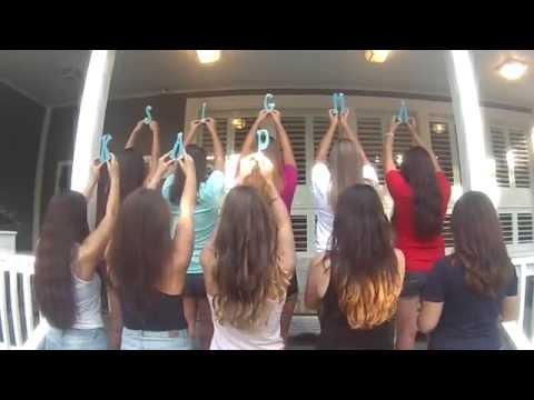 Sigma Kappa URI Recruitment Video 2015