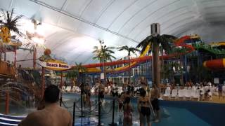 Fallsview Indoor Water Park Niagara Falls 1/15/16 walk through