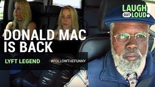 Donald Mac is at it again! | Kevin Hart: Lyft Legend Ep 3 | LOL Network