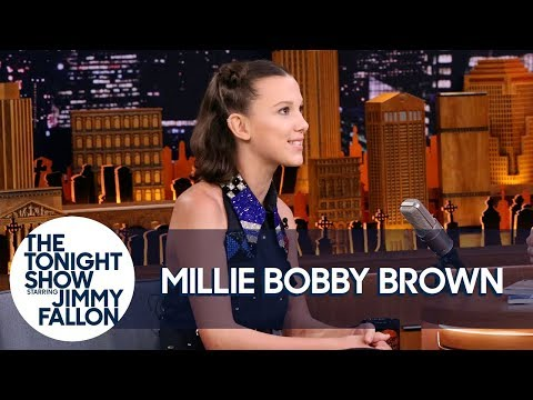 Xxx Mp4 Millie Bobby Brown Is Freaked Out By Grown Men Dressing Up As Eleven 3gp Sex
