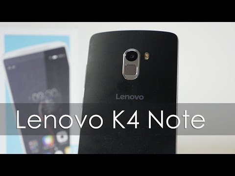 Lenovo K4 Note Unboxing First Looks & Overview