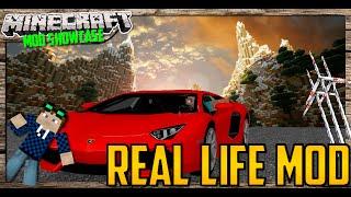 Minecraft Real Life Mod | Autos, Strom,Realismus | 1.8 Release showcase