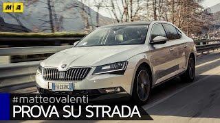 Nuova Skoda Superb 2016 - Prova su strada