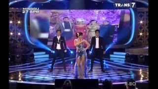 Akurapopo - Julia Perez ( Jupe ) Panas dingin awards 2014 HQ