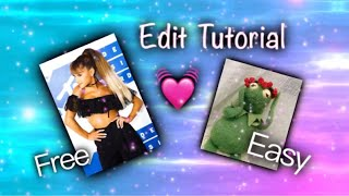 EASY AND FREE Video Star edit tutorial