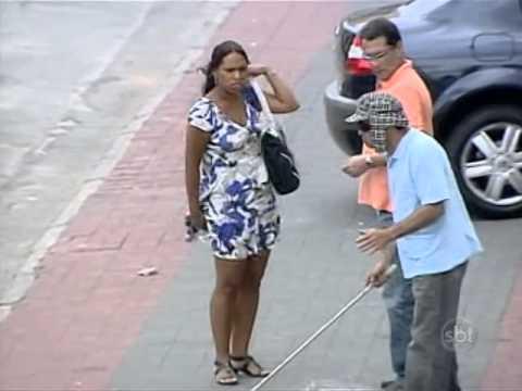 Câmera Escondida: Cego Abusado