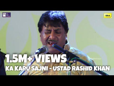 Kaa Karu Sajani Aaye Na Balam by Ustad Rashid Khan | Hindustani Classical Concert | Idea Jalsa 2015