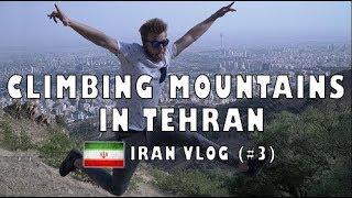 Climbing a Mountain in IRAN - Tochal Hiking Trail | Tehran, IRAN