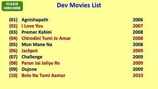 Dev Movies List