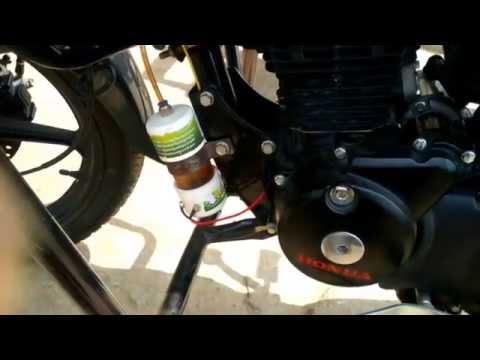 hho kit installation in bike