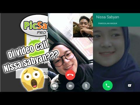CARA EDIT SEPERTI SEDANG VIDEO CALL DENGAN NISSA SABYAN (SCREENSHOOT)
