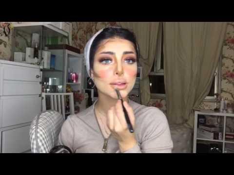 Ghadeer Sultan Makeup Tutorial |  ميكب توتوريال مع غدير سلطان