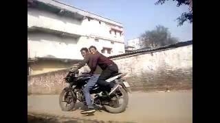 Bike Stunt @ Jagiroad College Road, Imran vs Aftar