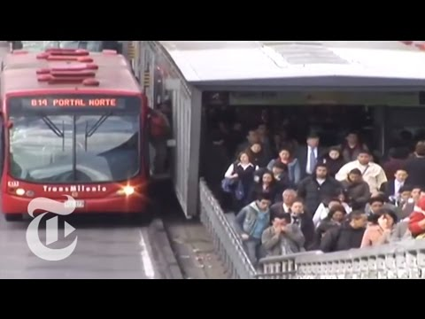 The Buses of Bogotá The New York Times