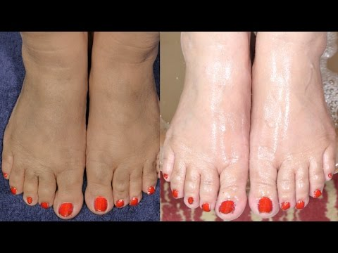 Feet Whitening Pedicure At Home By Simple Beauty Secrets