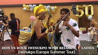 DON VS ROCK IWINUKPO WITH BELGIUM 🇧🇪 LADIES (Iwinukpo Europe Summer Tour)