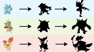 All Gen 8 Starters Evolutions | Pokemon Gen 8 Fanart #4