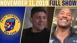 """The Rock,"" Nick Diaz, Stipe Miocic | Ariel Helwani's MMA Show (November 11, 2019) | ESPN MMA"
