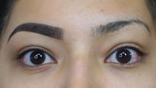Eyebrow Tutorial Using NEW LAGIRLCOSMETICS DARK & DEFINED BROW KIT