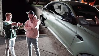 JAKE PAUL CRASHED MY NEW CAR **not clickbait**
