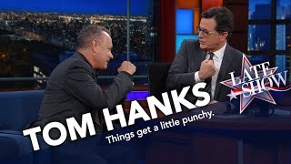 Tom Hanks and Stephen Trade Blows Over Indians Vs. Cubs