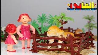 لعبة جولة فى حديقة الحيوانات أجمل ألعاب حيوانات الغابة للأولاد والبنات