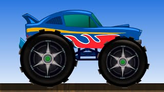 Monster Truck | Kids Monster Truck Game Video