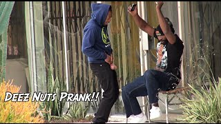 DEEZ NUTS PRANK!! ARRESTED EDITION featuring MOLO NATION
