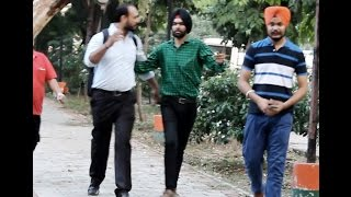 Ammy virk doing prank in public || very funny full HD video 2016