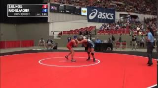 53kg c, Samantha Klingel, King vs Rachel Archer, Gator OKCU