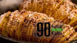 90 Second Hasselback Potato