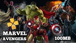 (100mb)DOWNLOAD MARVEL AVENGERS GAME HIGHLY COMPRESSED FOR ANDROID