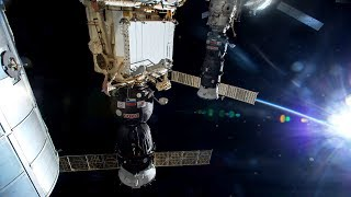 NASA/ESA ISS Space Station Livestream With Map - 41 - 2018-03-19