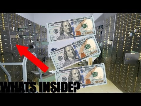 FOUND HUNDREDS GOT INTO CLOSED BANK VAULT Abandoned Bank With Safes Full Of Money