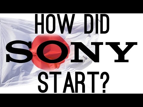 How Did Sony Start The Origins of Sony