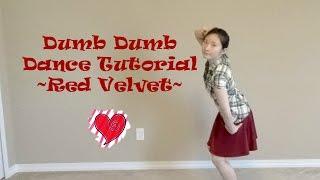 Dumb Dumb (Red Velvet) Mirrored Dance Tutorial