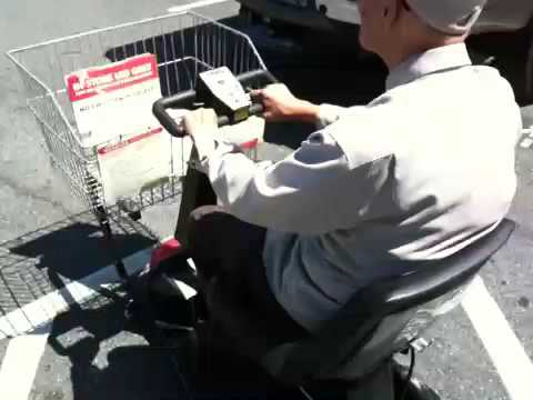 91 year old grandpa goes shopping