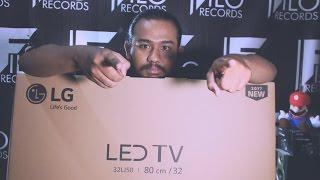 TV LED MONITOR LG 32 inch FULL HD 32LJ500D #yansunboxing