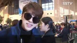 [SSTV영상] 빅스(VIXX)-서인국, 화보 스타일 물씬~ 공항패션 '취향 저격' (한중가요제)
