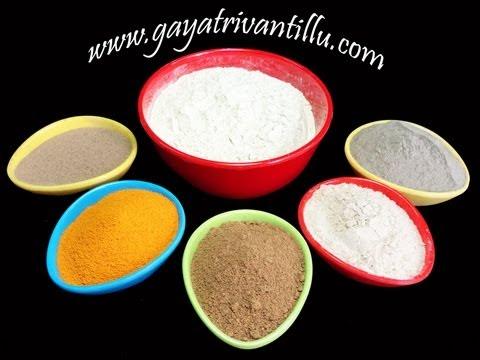 Sunni Pindi - Bathing Powder with Aromatic and Indian Medicinal Herbs - Gayatrivantillu