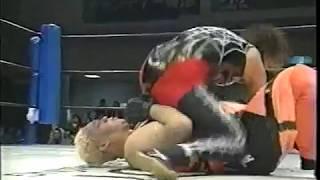 Aja Kong vs. Mariko Yoshida (ARSION 5/7/2000)