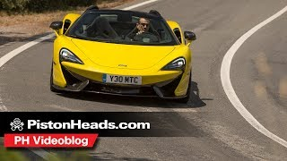 McLaren 570S Spider| Is this the best Sports Series yet? | PH Vlog