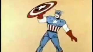 CAPTAIN AMERICA Cartoon Intro