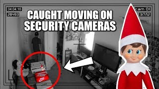 ELF ON THE SHELF CAUGHT MOVING ON SECURITY CAMERAS!