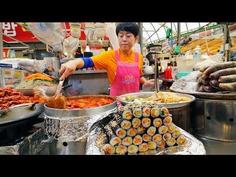 Xxx Mp4 KOREAN STREET FOOD Gwangjang Market Street Food Tour In Seoul South Korea BEST Spicy Korean Food 3gp Sex